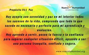 Propósito 911 Paz
