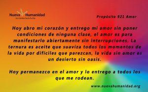 Propósito 921 Amor