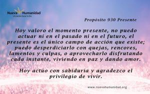 Propósito 930 Presente