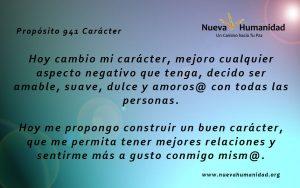 Propósito 941 Carácter