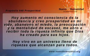 Propósito 948 Prosperidad