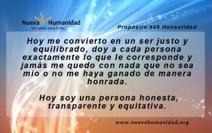 Propósito 949 Honestidad