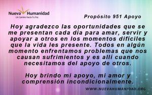 Propósito 951 Apoyo