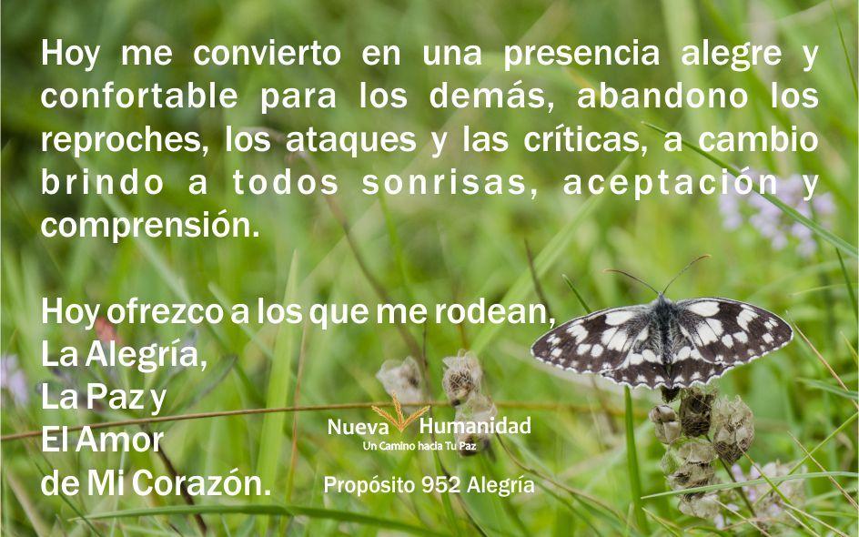 Propósito 952 Alegría