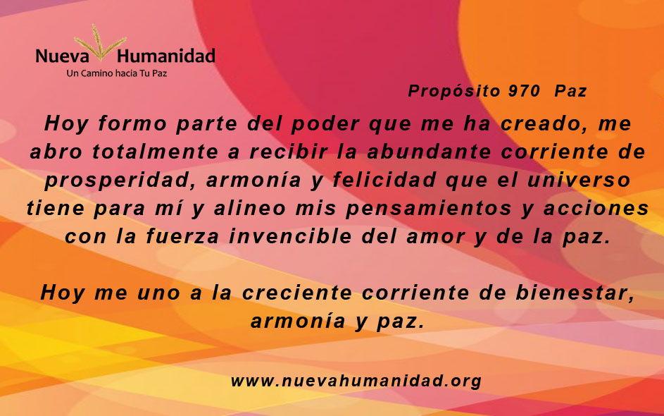 Propósito 970 Paz
