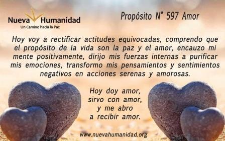 Propósito 597 Amor