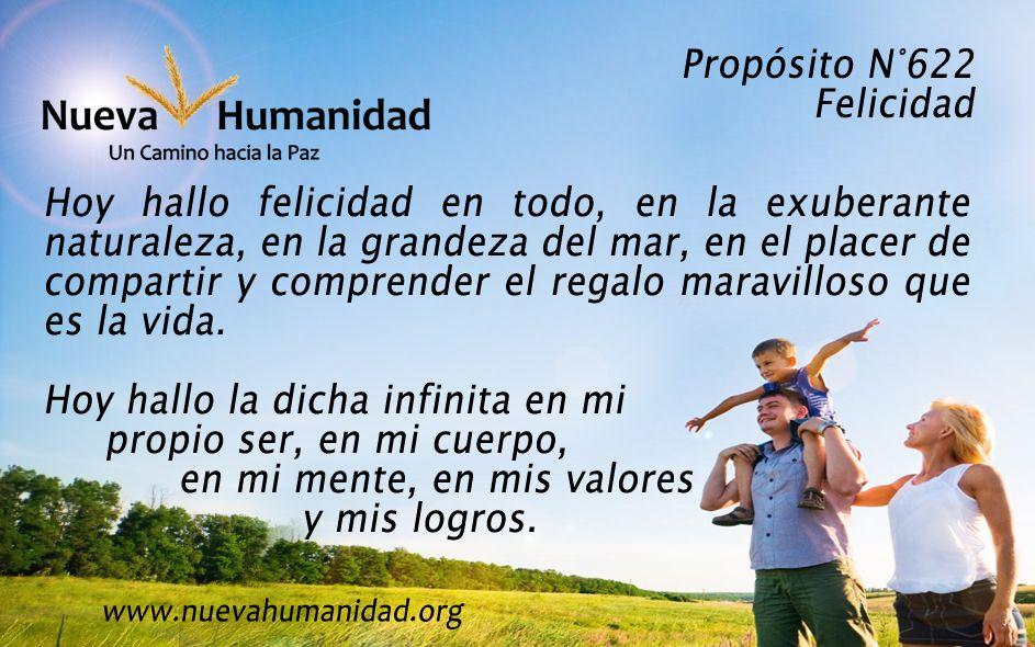 Propósito 622 Felicidad