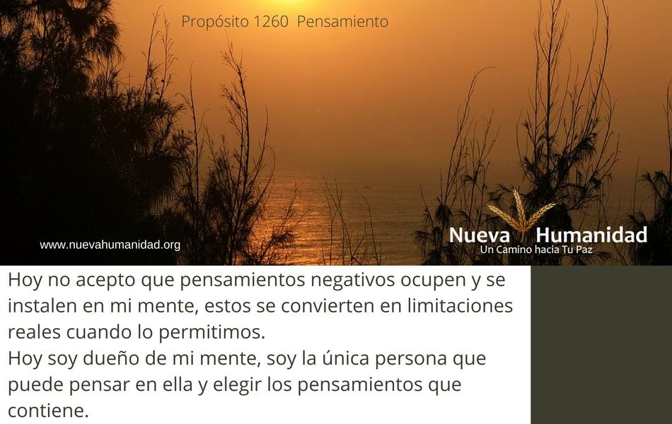 Propósito 1260 Pensamiento