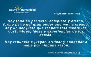 Propósito 1015 Paz