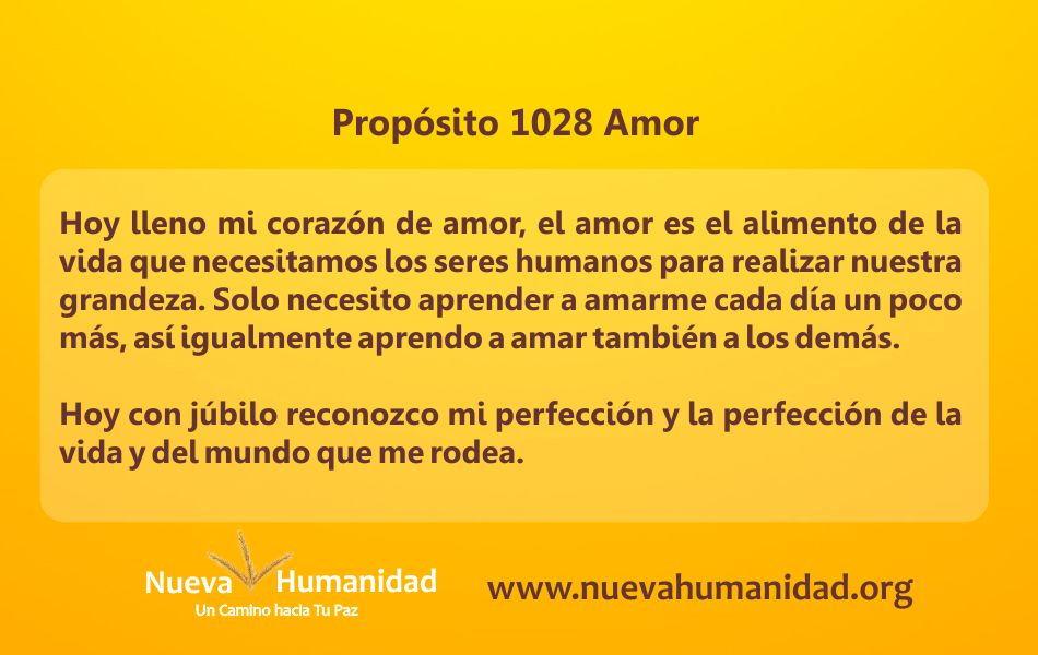 Propósito 1028 Amor