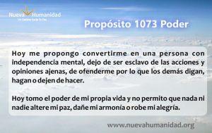 Propósito 1073 Poder