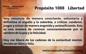 Propósito 1088 Libertad