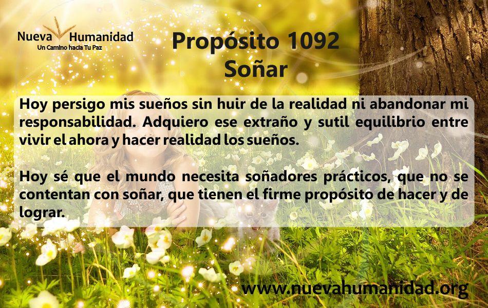 Propósito 1092 Soñar
