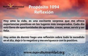 Propósito 1094 Reflexión
