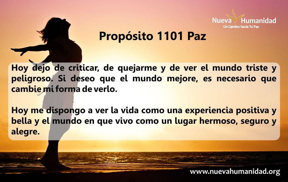 Propósito 1101 Paz
