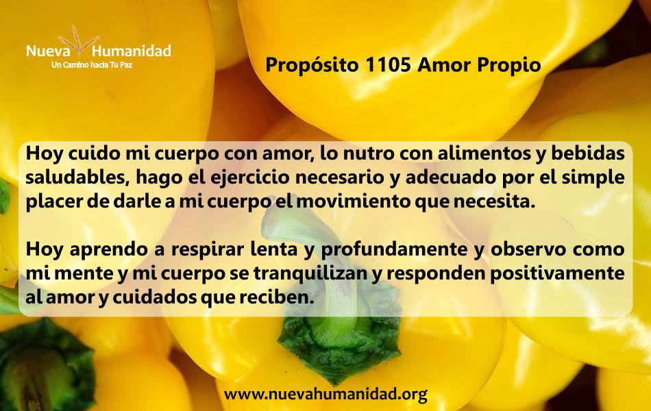 Propósito 1105 Amor propio