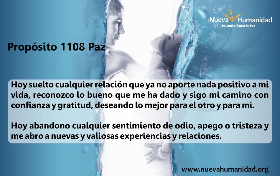 Propósito 1108 Paz