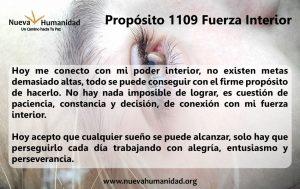 Propósito 1109 Fuerza interior
