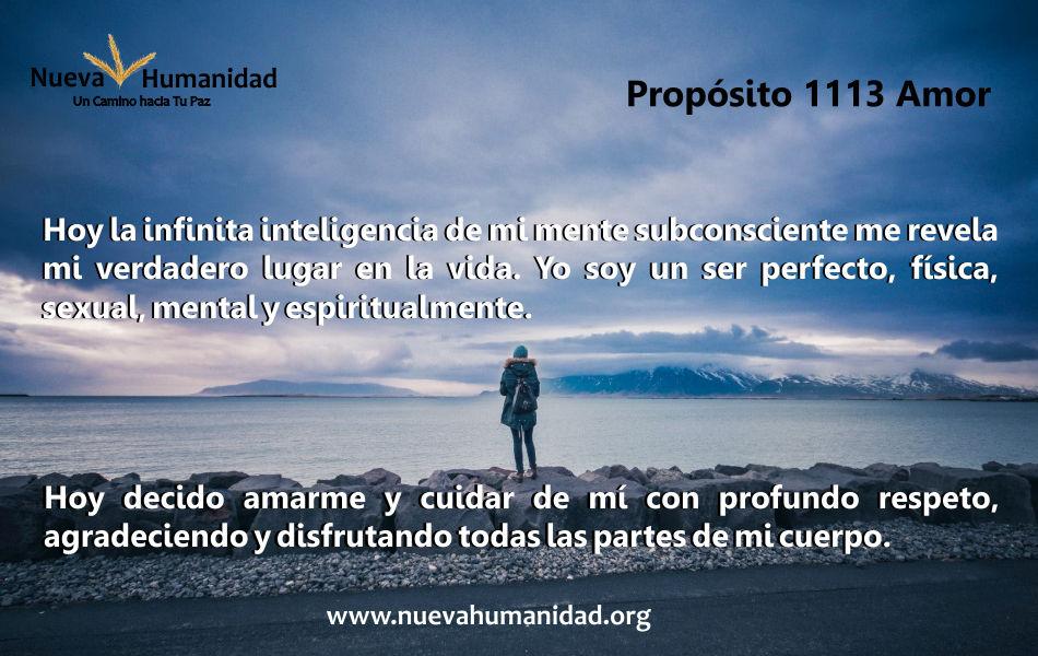Propósito 1113 Amor