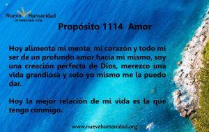 Propósito 1114 Amor