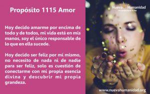 Propósito 1115 Amor