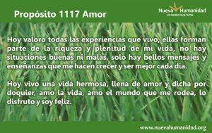 Propósito 1117 Amor