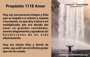 Propósito 1118 Amor