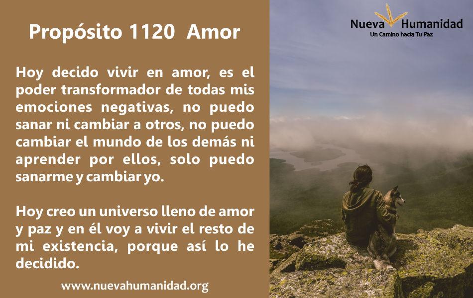 Propósito 1120 Amor