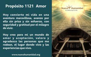 Propósito 1121 Amor