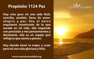 Propósito 1124 Paz