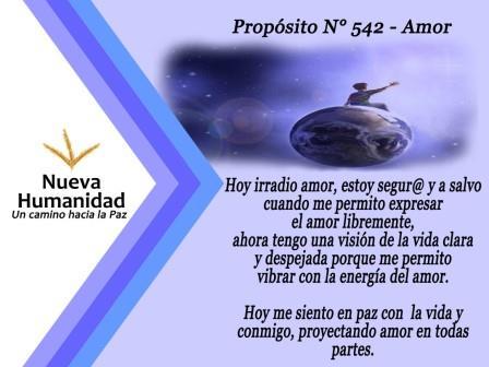 Propósito 542 Amor