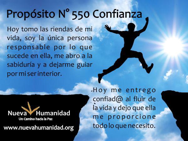 Propósito 550 Confianza