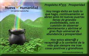 Propósito 555 Prosperidad