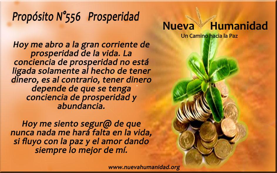Propósito 556 Prosperidad