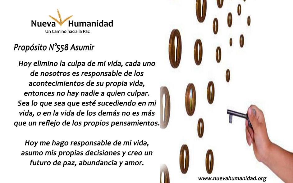 Propósito 558 Asumir