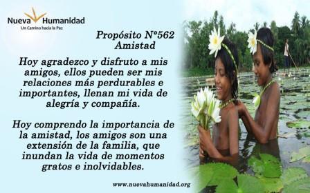 Propósito 562 Amistad