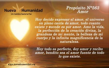 Propósito 563 Amor