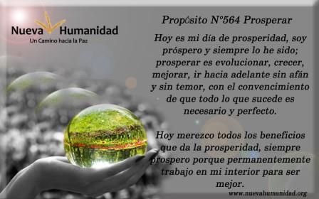 Propósito 564 Prosperar
