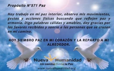 Propósito 571 Paz