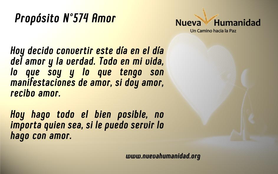 Propósito 574 Amor