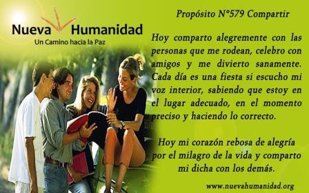Propósito 579 Compartir
