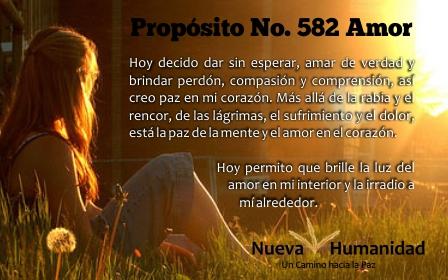 Propósito 582 Amor