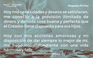 Propósito 971 Paz