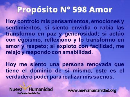 Propósito 598 Amor