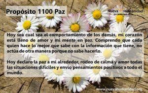Propósito 1100 Paz