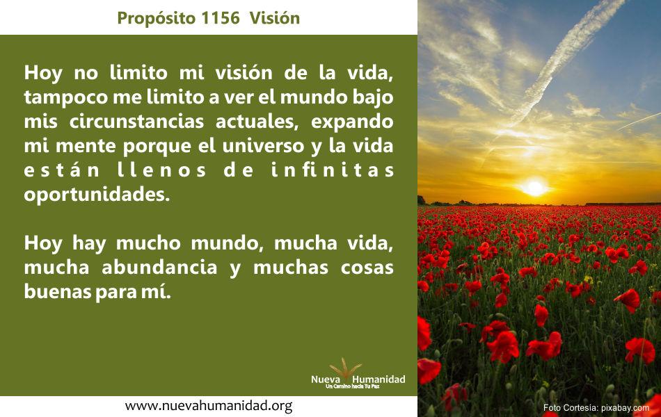 Propósito 1156 Visión