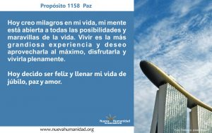 Propósito 1158 Paz