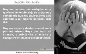 Propósito 1161 Perdón