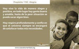Propósito 1163 Alegría