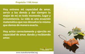 Propósito 1166 Amor